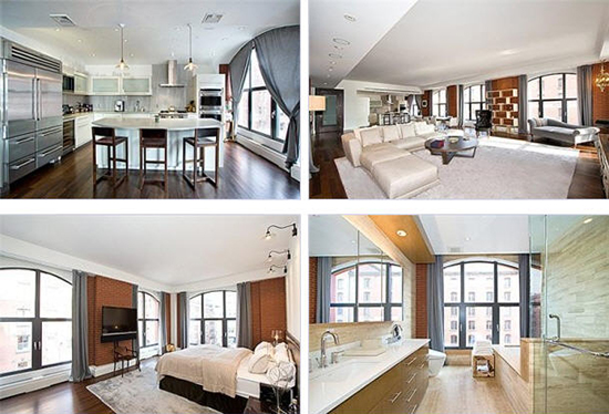 Celebrity houses in new york for Celebrities homes in nyc