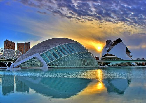 Image result for City of Arts and Sciences Complex
