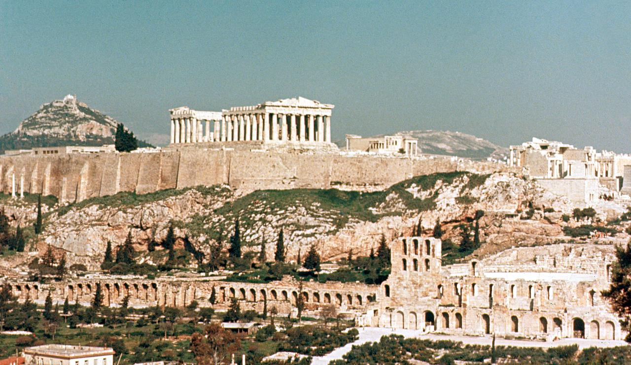 Best Views of the Acropolis in Athens