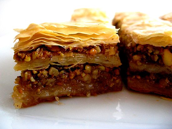The best baklava in Istanbul
