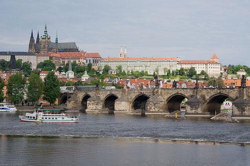 The Charles Bridge in Prague