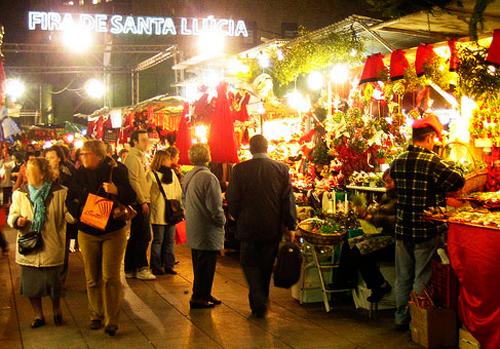 Barcelona <b>Christmas</b> market