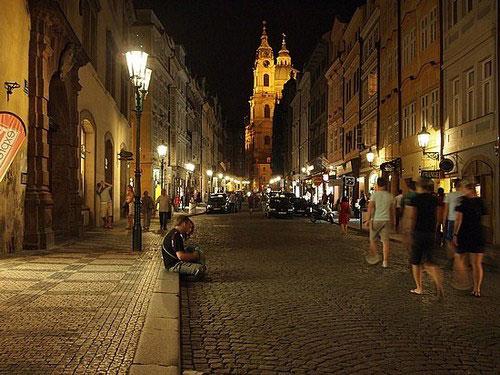 Indie nights in Prague