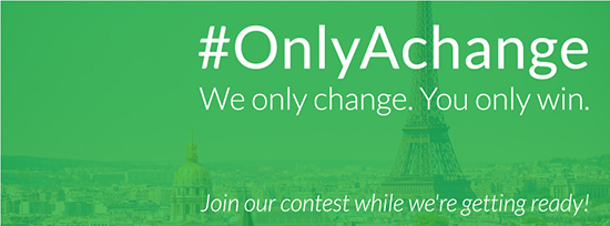 Instagram Contest: Moving forward… #OnlyAChange