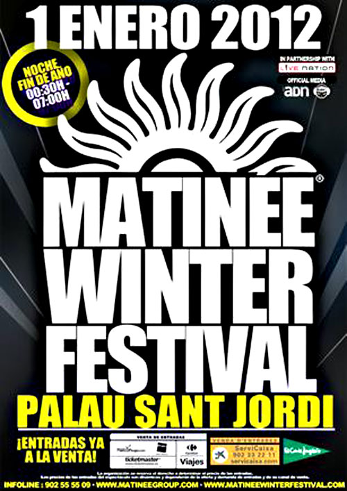 matinee <b>new</b> <b>year</b> barcelona