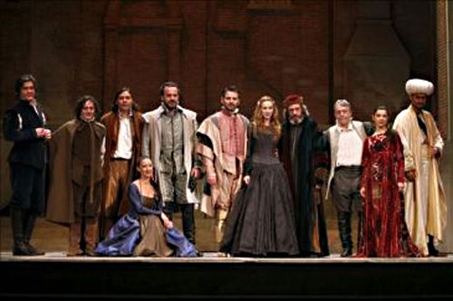 The Merchant of Venice in Barcelona.