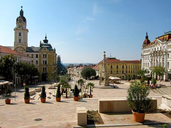 Pécs, the city of culture