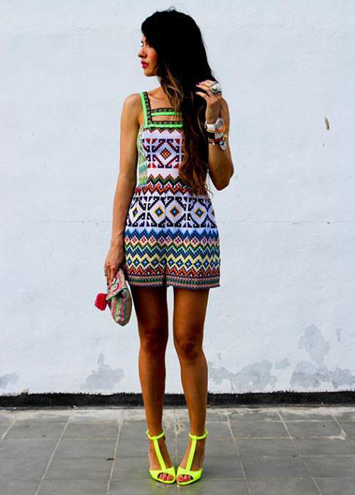 Summer Fashion in Barcelona