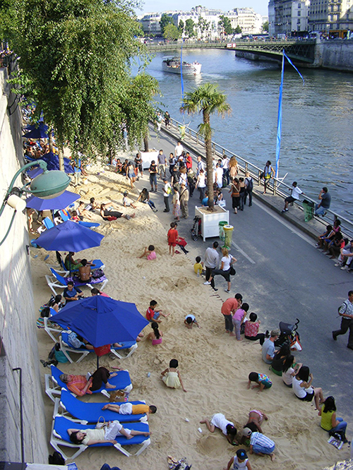 The Top 3 Artificial Beaches in Europe