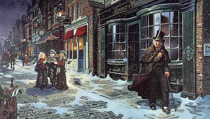 "A Charles Dickens Tour and ""A Christmas Carol"""