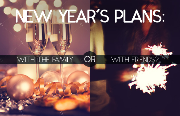 New Year's Eve: with the Family vs. with Friends