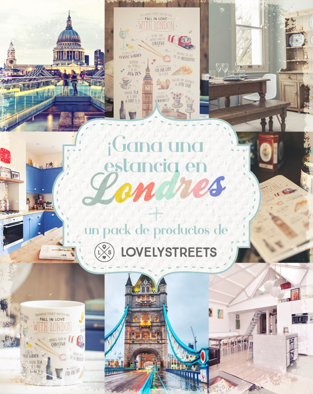 Win a London Stay + a Kit of Lovely Streets Products!